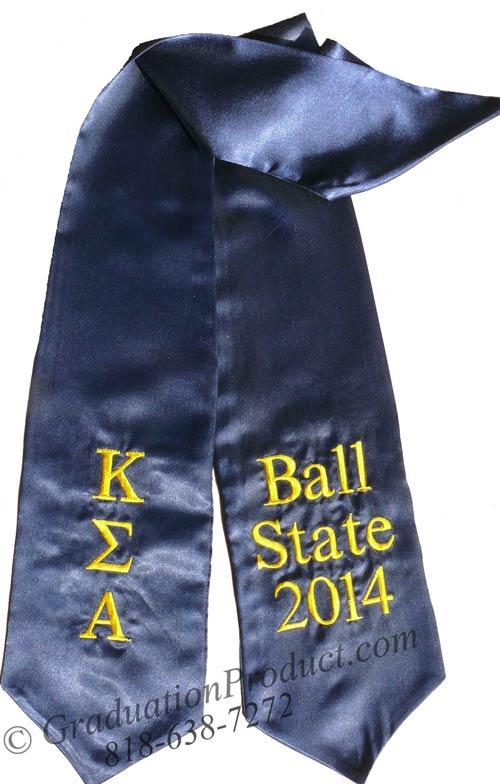 Kappa Sigma Alpha Greek Grad Stole