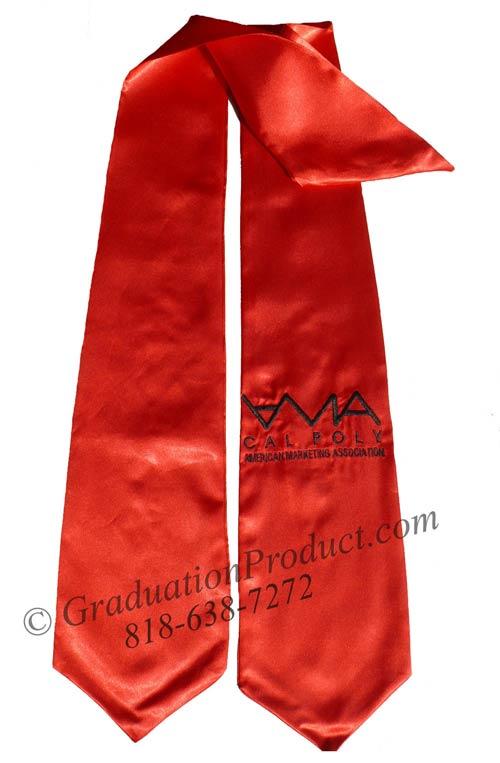 AMA Cal Poly Graduation Stole