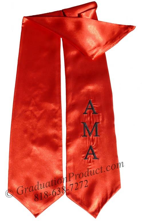 AMA Graduation Stole
