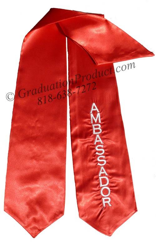 Ambassador Graduation Stole