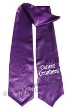 Cancer Crushers Graduation Stole