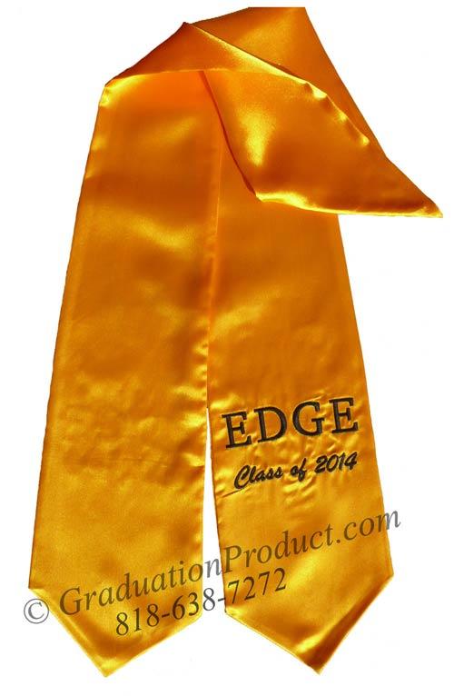 Edge Class of 2015 Graduation Stole