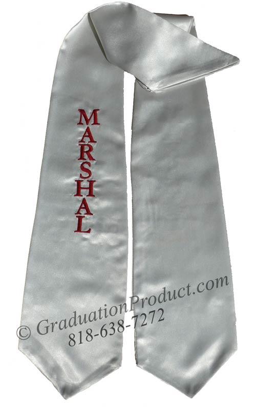 Marshal Graduation Stole