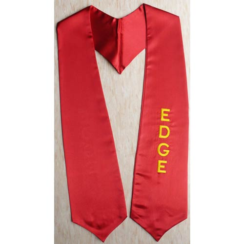 Edge Graduation Stole