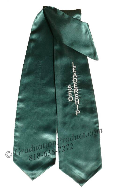 LeaderShip Seo Graduation Stole