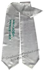 Teaching Fellows Graduation Stole