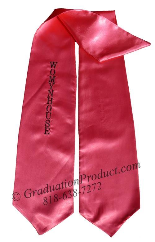 Womynhouse Graduation Stole