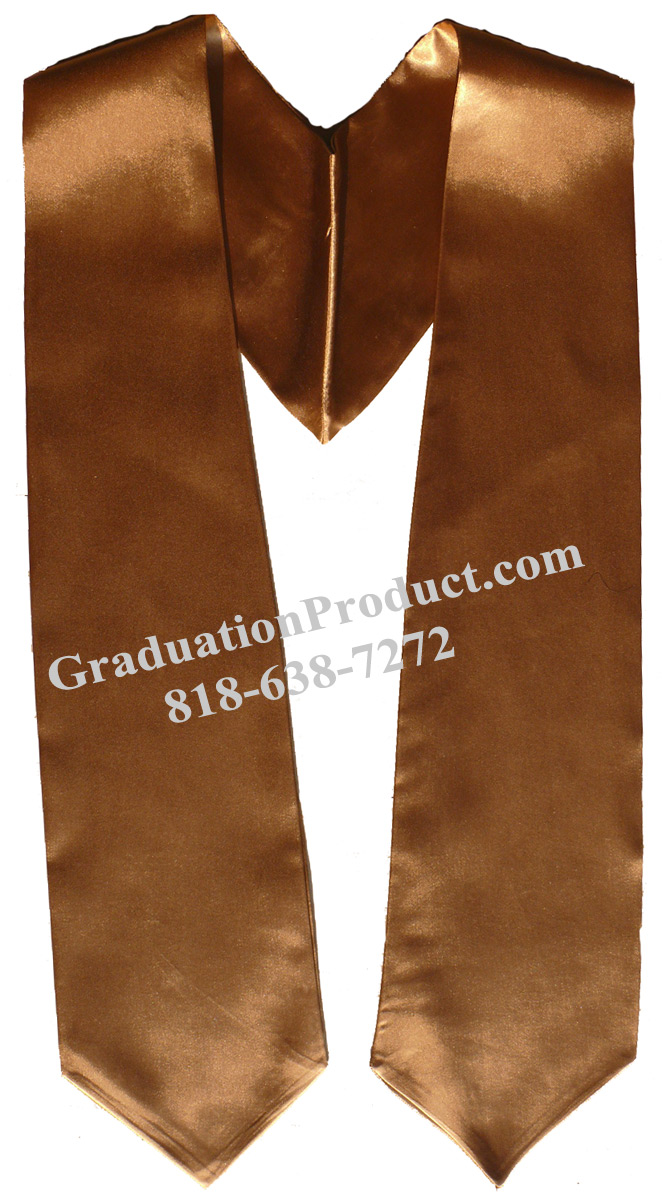 Copper Graduation Stole