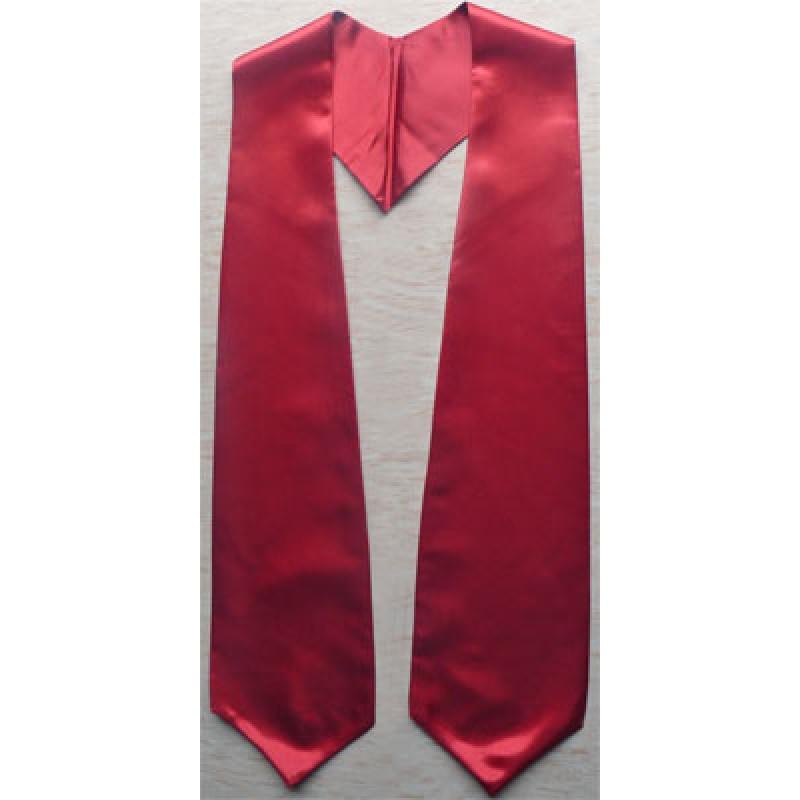 Maroon Graduation Stole