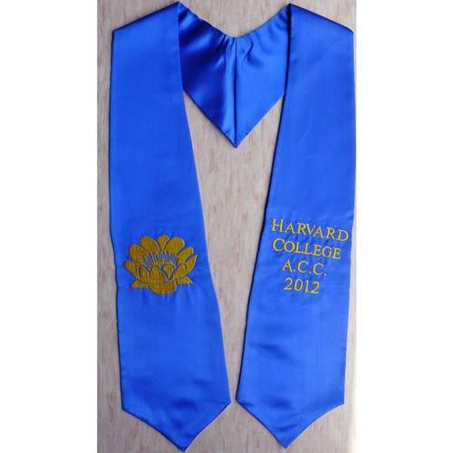 Harvard College ACC 2015 Graduation Stole