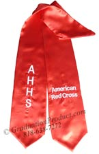 American Red Cross Graduation Stole