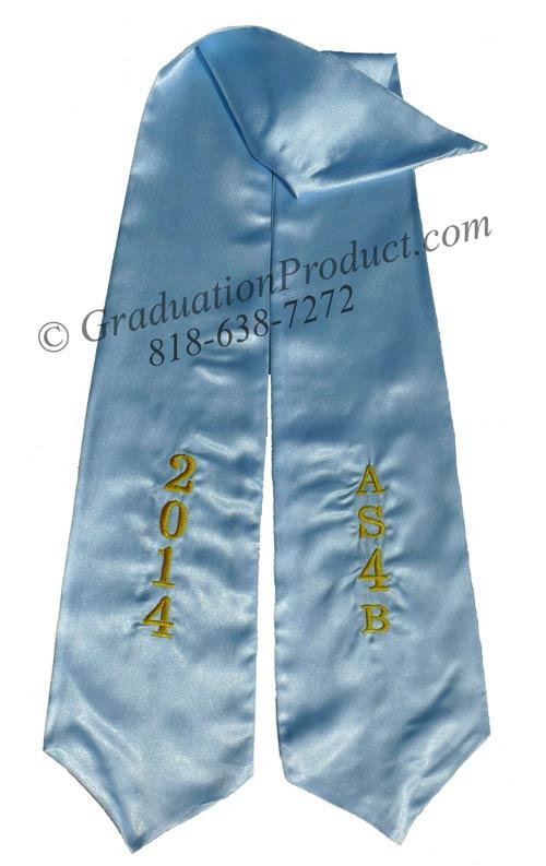 AS4B Graduation Stole