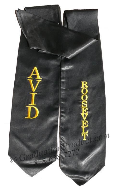 AVID Roosevelt Graduation Stole