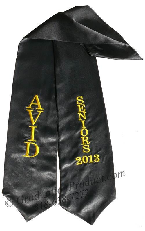 AVID Seniors Graduation Stole