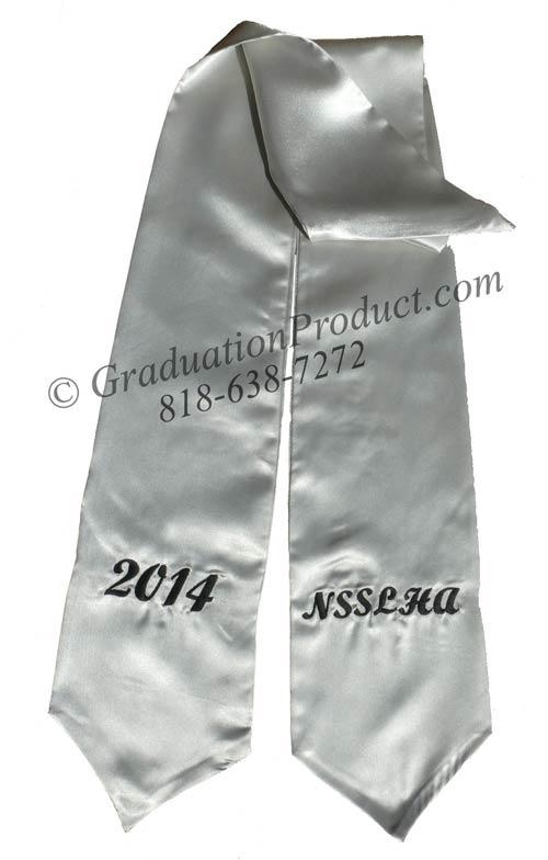 NSSLHA Graduation Stole
