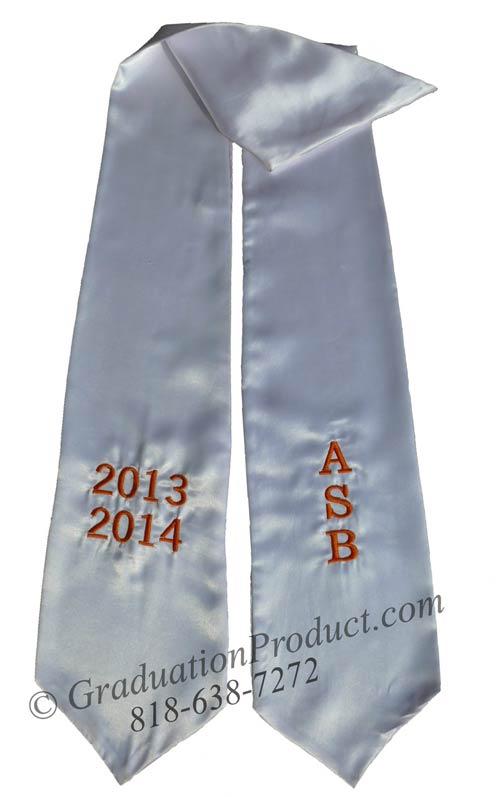 ASB 2015 Graduation Stole