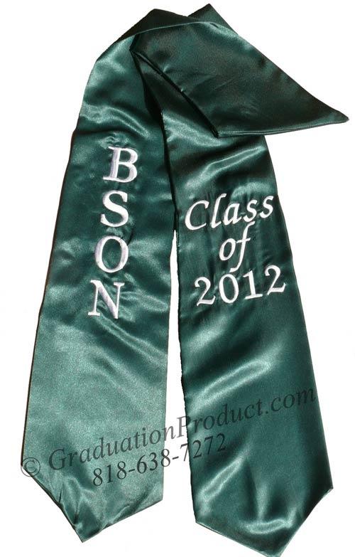 BSON Class of 2015 Graduation Stole