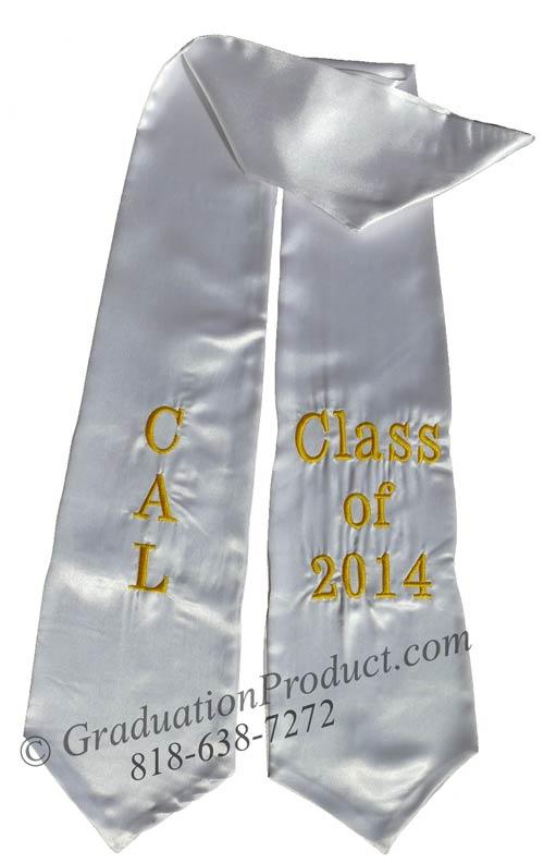 CAL Class of 2014 Graduation Stole