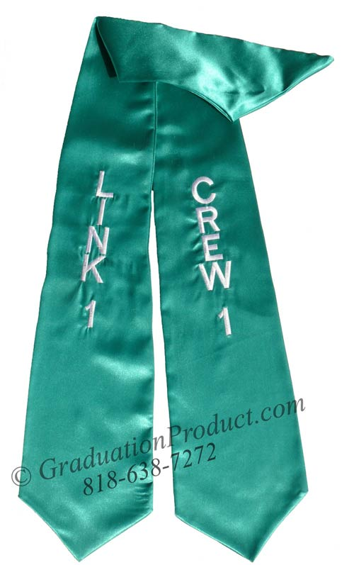 Link 1 Crew 1 Graduation Stole
