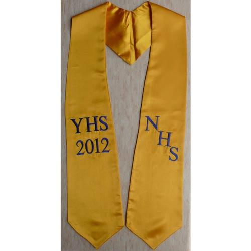 NHS YHS 2015 Graduation Stoles