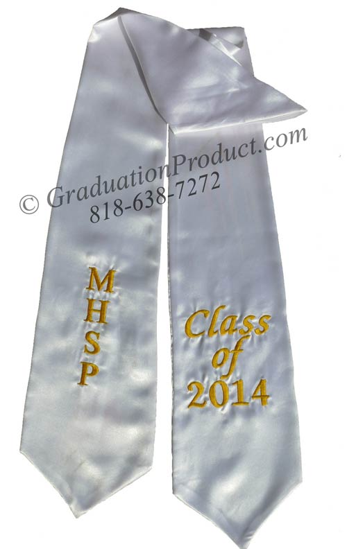 MHSP Class of 2015 Graduation Stole