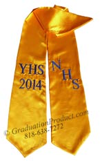 NHS YHS 2015 Graduation Stole