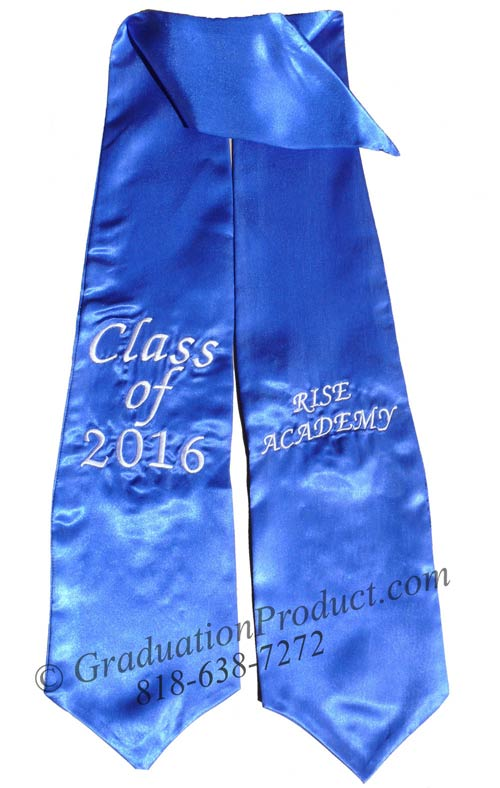 Rise Academy Class of 2015 Graduation Stole