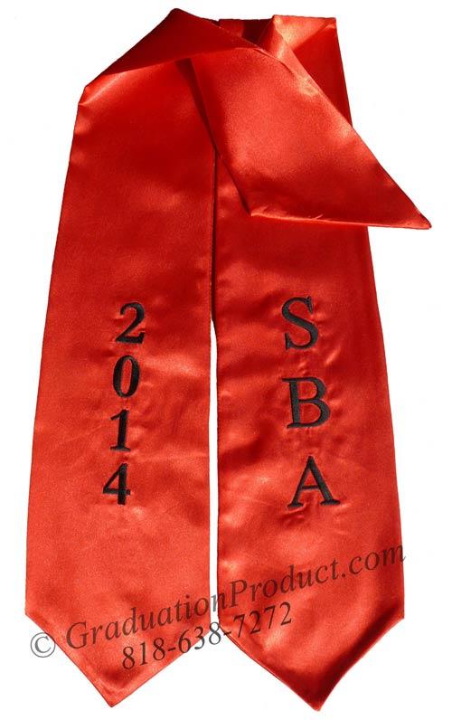 SBA 2015 Graduation Stole