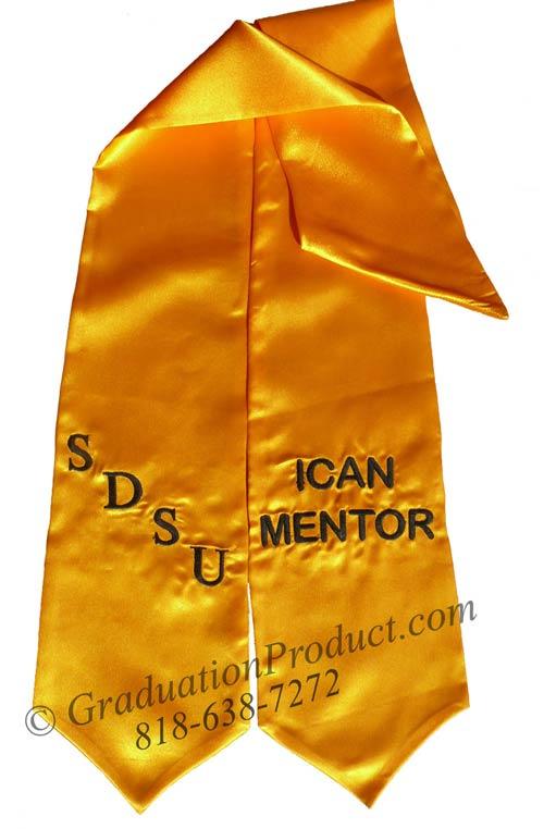 SDSU Ican Mentor Graduation Stole