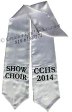 Show Choir CCHS 2015 Graduation Stole