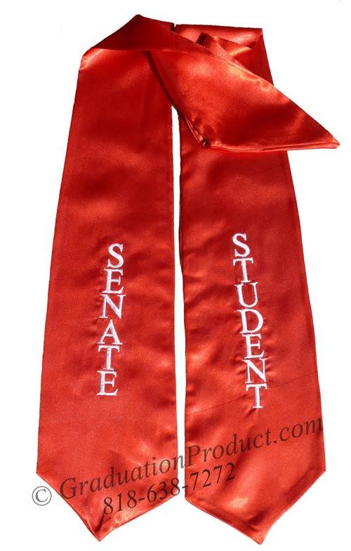 Senate Student Graduation Stole