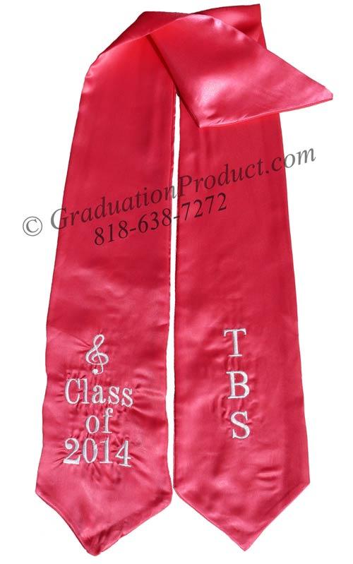 TBS Class of 2015 Graduation Stole