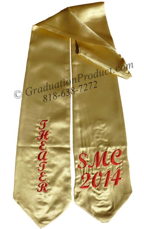 SME 2015 Theater Graduation Stole